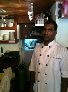 "Proprietor and Chef: ""RJ"""